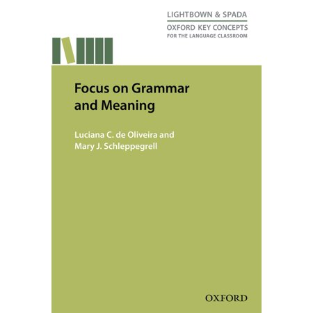 Focus on Grammar and Meaning - eBook (Grammar And Meaning An Introduction For Primary Teachers)