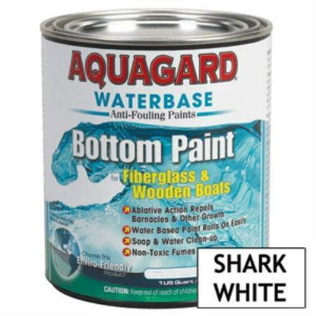Aquagard 38704 Aquagard Waterbased Anti-Fouling Bottom Paint - 1Qt - Shark White