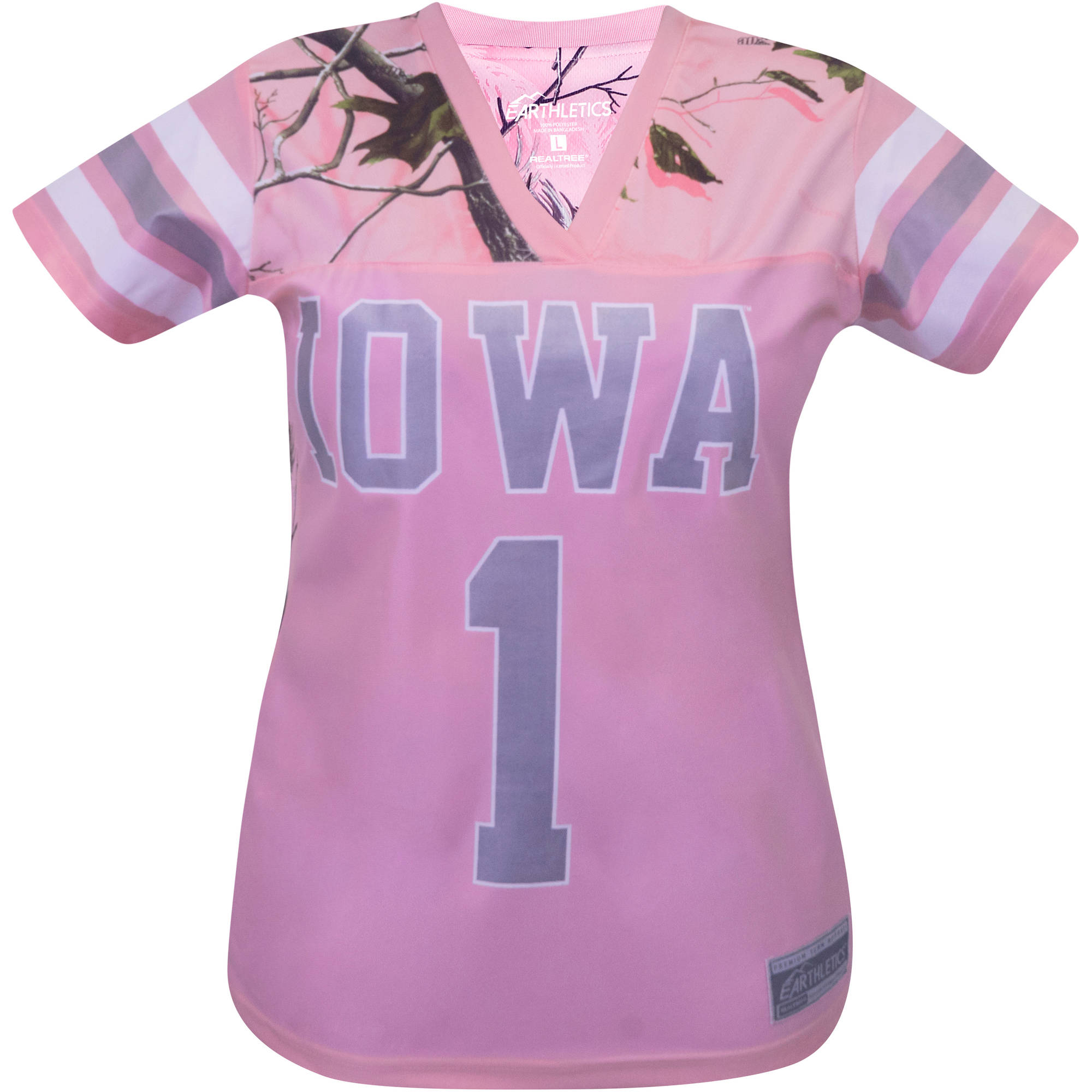 NCAA Iowa State Ladies Pink Game Day Jersey