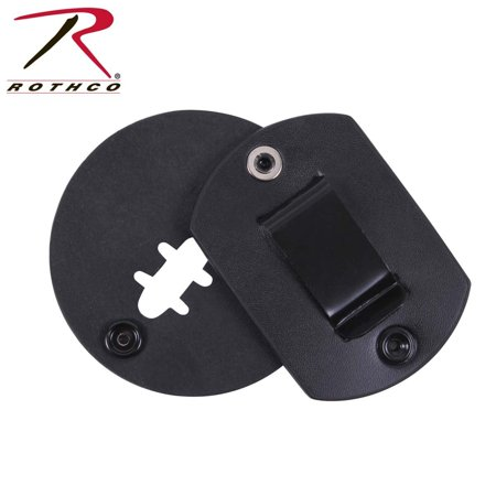 Round Leather Clip On Badge Holder/Swivel, Quality tested and ensured for maximum durability By Rothco - Leather Round Clip