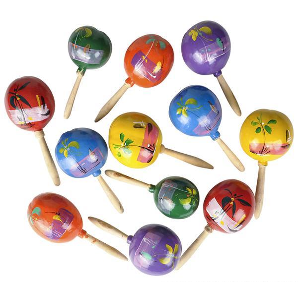 "7"" MEXICAN MARACAS, Case of 36"