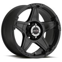 "Vision 395 Wizard 18x9 6x135 -12mm Matte Black Wheel Rim 18"" Inch"