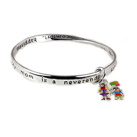 Mom & Daughter Tribute Honor Bangle Bracelet Prayer Christian Mother ...
