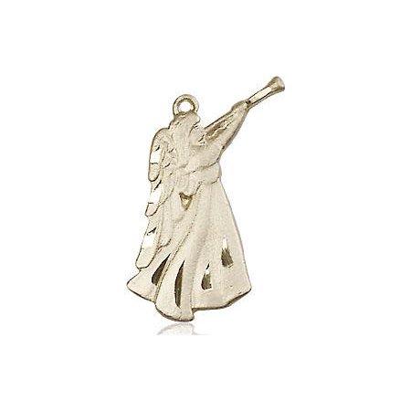 Guardian Angel Medal in 14 KT Gold
