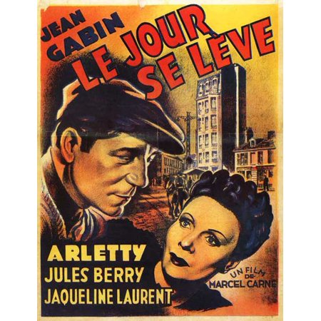Le Jour Se Leve (1939) Laminated Movie Poster Print 24 x 36