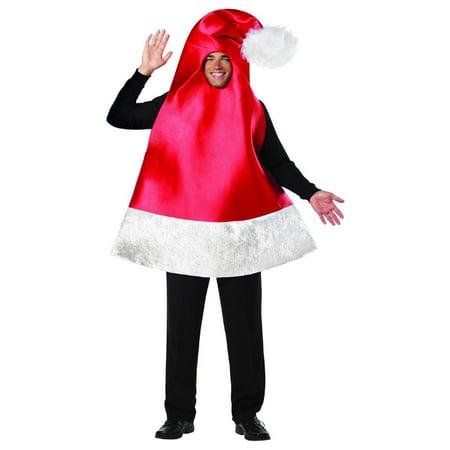 Santa Hat Costume Adult Standard - image 1 of 1