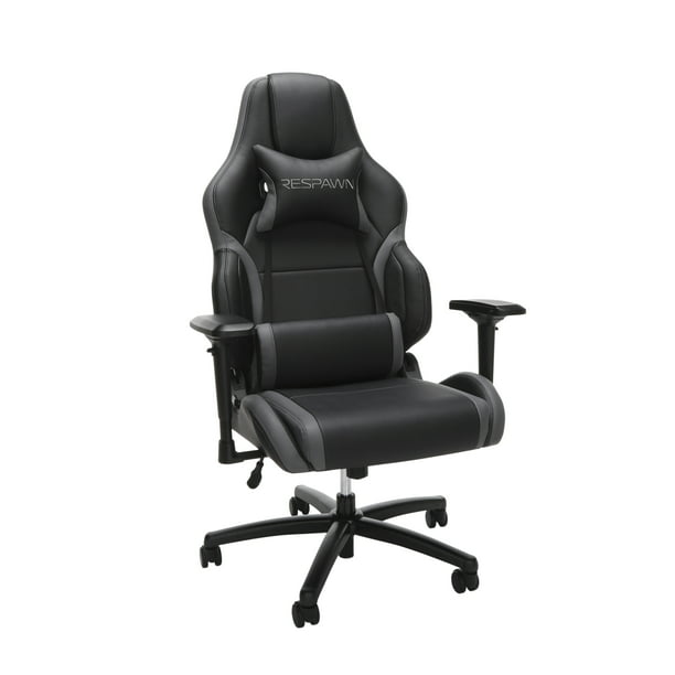 RESPAWN-400 Racing Style Gaming Chair - Big and Tall Leather Chair, Office or Gaming Chair Gray (RSP-400)