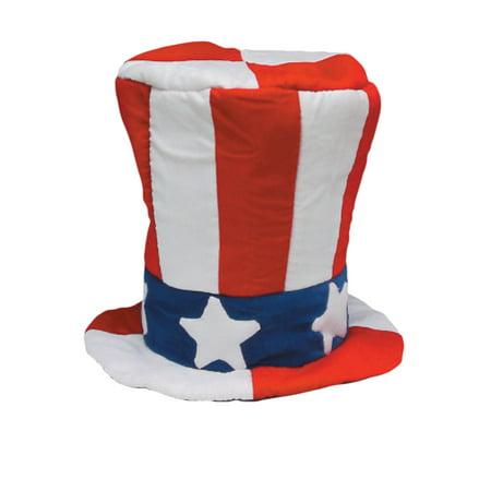 Velvet Uncle Sam Top Hat