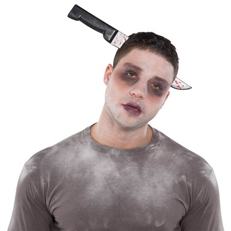 Knife Costume (Knife Through Head Adult Costume)