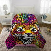 Lisa Frank Reversible Comforter, Kids Bedding, Twin/Full, Wildside