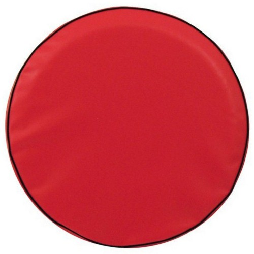 Tire Cover by Holland Bar Stool - Plain Red, 31.25'' x 11''