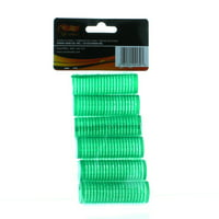 Plastic Self Hold Small Rollers Lot of 6 Self Grip Cling Hair Curlers