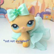 Littlest Pet Shop Accessories LPS Lot Bow Skirt CAT NOT INCLUDED