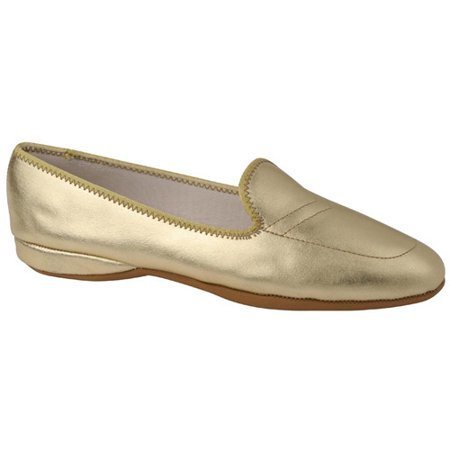 Daniel Green Womens Meg Leather Casual Loafer Slippers