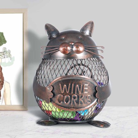 Wine Cork Container Tooarts Animal Ornament Creative Ornament Iron Art Practical Crafts Home Decoration Gift - image 3 of 7