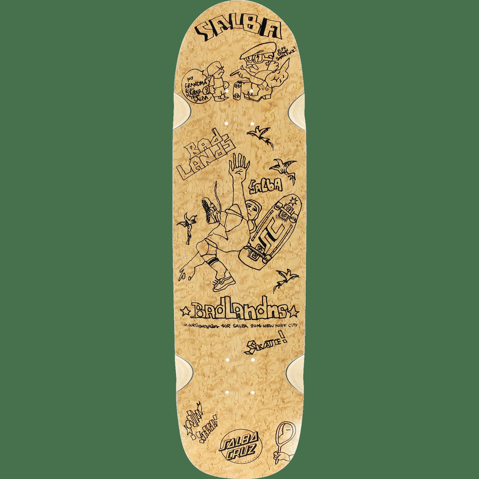 Santa Cruz Organic Santa Cruz Salba x Gonz Skateboard Dec...