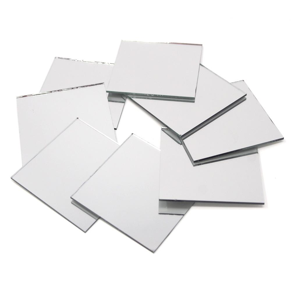 Square Mirror Table Scatter, 2-Inch, 8-Count by