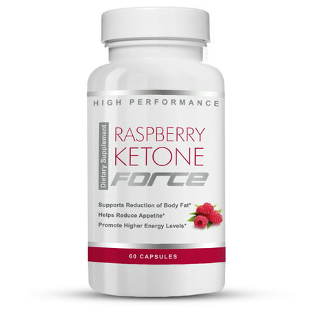Raspberry Ketone Force - Natural Weight Loss Pills -- Burn Fat - Improve Metabolism - Boost Energy - Reduce Belly Fat - Lose Weight Naturally (60