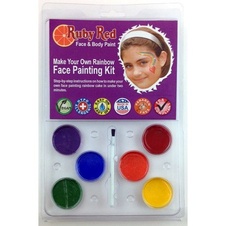 RubyRedPaint Water Based Face Painting Kit