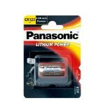 2 X 10 pcs Panasonic Lithium CR123A 3V Photo Lithium Batteries