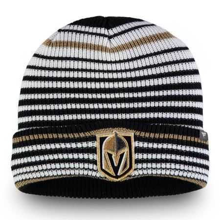 da94ebf23da Vegas Golden Knights Fanatics Branded Iconic Layer Core Cuffed Knit ...