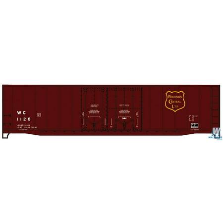 Accurail 5415 HO Wisconsin Central 50' AAR Double Plug Door Boxcar Kit ()