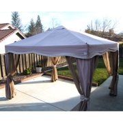 Garden Winds Replacement Canopy Top for Pacific Bay 11 x 9 Gazebo - Riplock 350