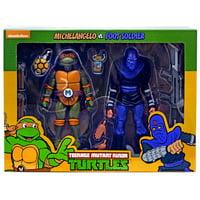 Teenage Mutant Ninja Turtles Michelangelo & Foot Soldier Action Figure 2-Pack