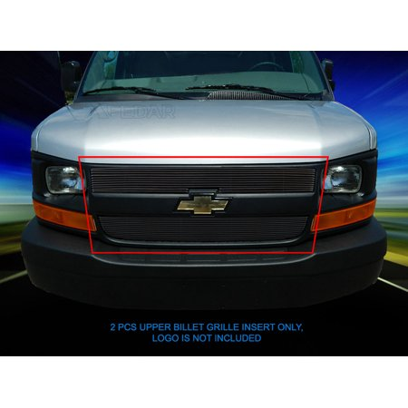 Fedar Main Upper Billet Grille For 2003-2014 Chevy Express (2005 Chevy Express Conversion Van For Sale)