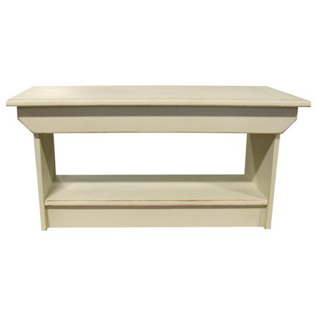 Sawdust City Coffee Table or Bench, Antique Cream - City Table