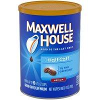 Maxwell House Lite Ground Coffee (11oz Jars, Pack of 3)