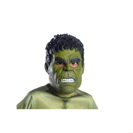 Marvel Avengers Infinity War Hulk 3/4 Adult Mask Halloween Costume Accessory