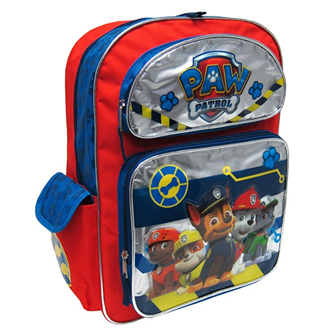 Nickelodeon Paw Patrol With 3D Embellishment Kids Backpack, 16 Inches…