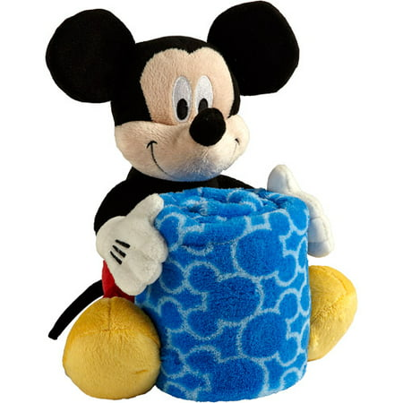 Disney Mickey Mouse Plush With Blanket Walmart Com