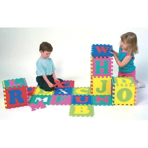 Chenille Kraft Company WonderFoam Letters Puzzle Mat