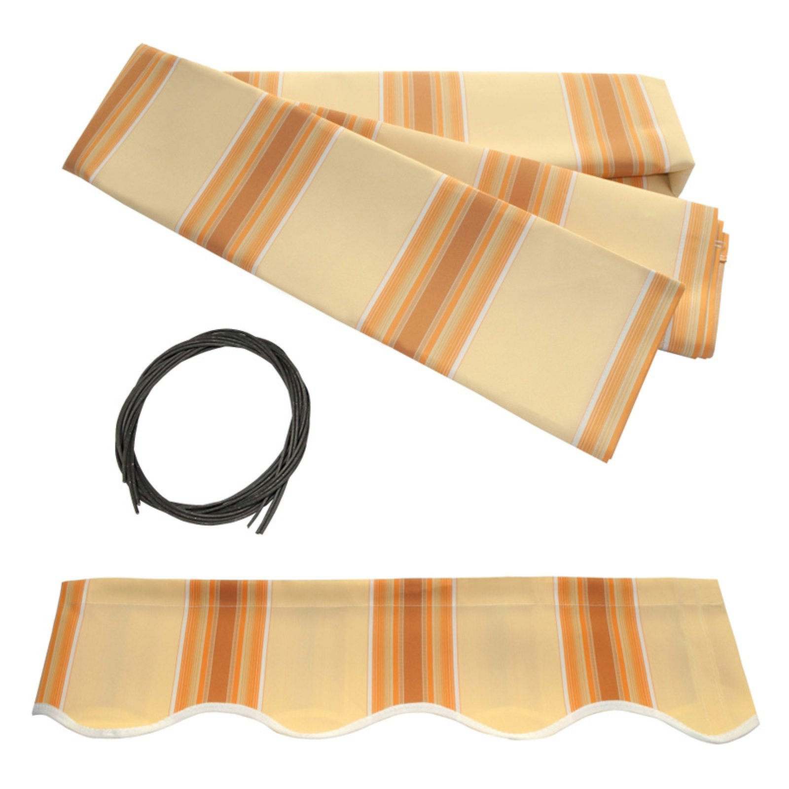 ALEKO 13'x10' Retractable Awning Fabric Replacement, Multi ...