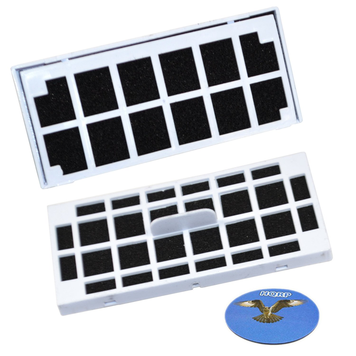 HQRP 2-pack Refrigerator Air Filter for GE ZIR240NPKAII