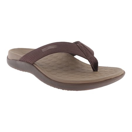 84c9ac4018ed Vionic - Vionic with Orthaheel Technology Womens Wave Orthatic Sandal  Chocolate Size 12 - Walmart.com