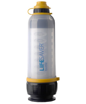 Click here to buy Icon LifeSaver 4000 Liter Water Purification Bottle by Icon Lifesaver.