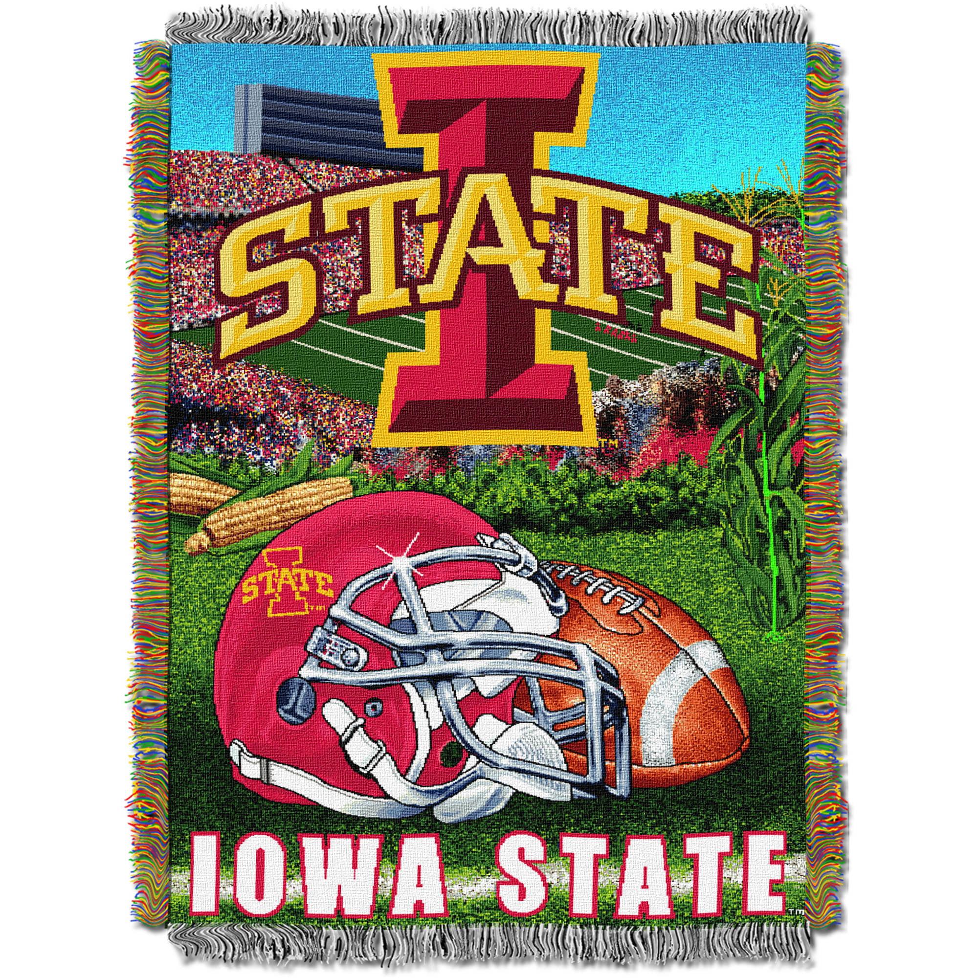 "NCAA 48"" x 60"" Tapestry Throw Home Field Advantage Series- Iowa State"