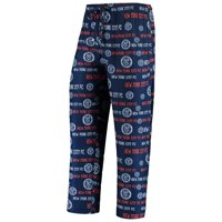 New York City FC Concepts Sport Midfield All-Over Print Sleep Pants - Navy