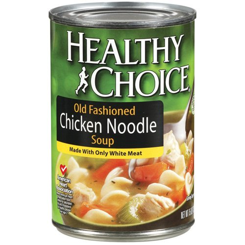 Healthy Choice Old Fashioned Chicken Noodle Soup, 15 oz
