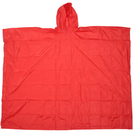 Ozark Trail® Lightweight Red Rain Poncho (Military Rain Poncho)