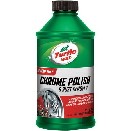 Turtle Wax Chrome Polish, (Turtle Wax Foam)