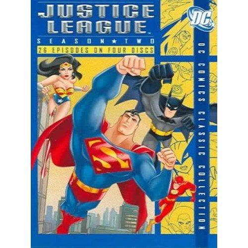 Justice League: Season Two (DVD + Digital Comic) (Walmart Exclusive) (Full Frame)