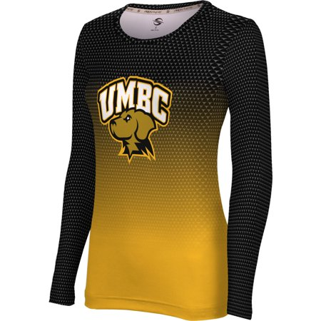 ProSphere - ProSphere Women s University of Maryland Baltimore County Zoom Long  Sleeve Tee - Walmart.com 6928e202be