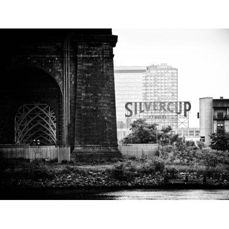 Silvercup Studios, Roosevelt Island for the Ed Koch Queensboro Bridge, Long Island City, New York Print Wall Art By Philippe