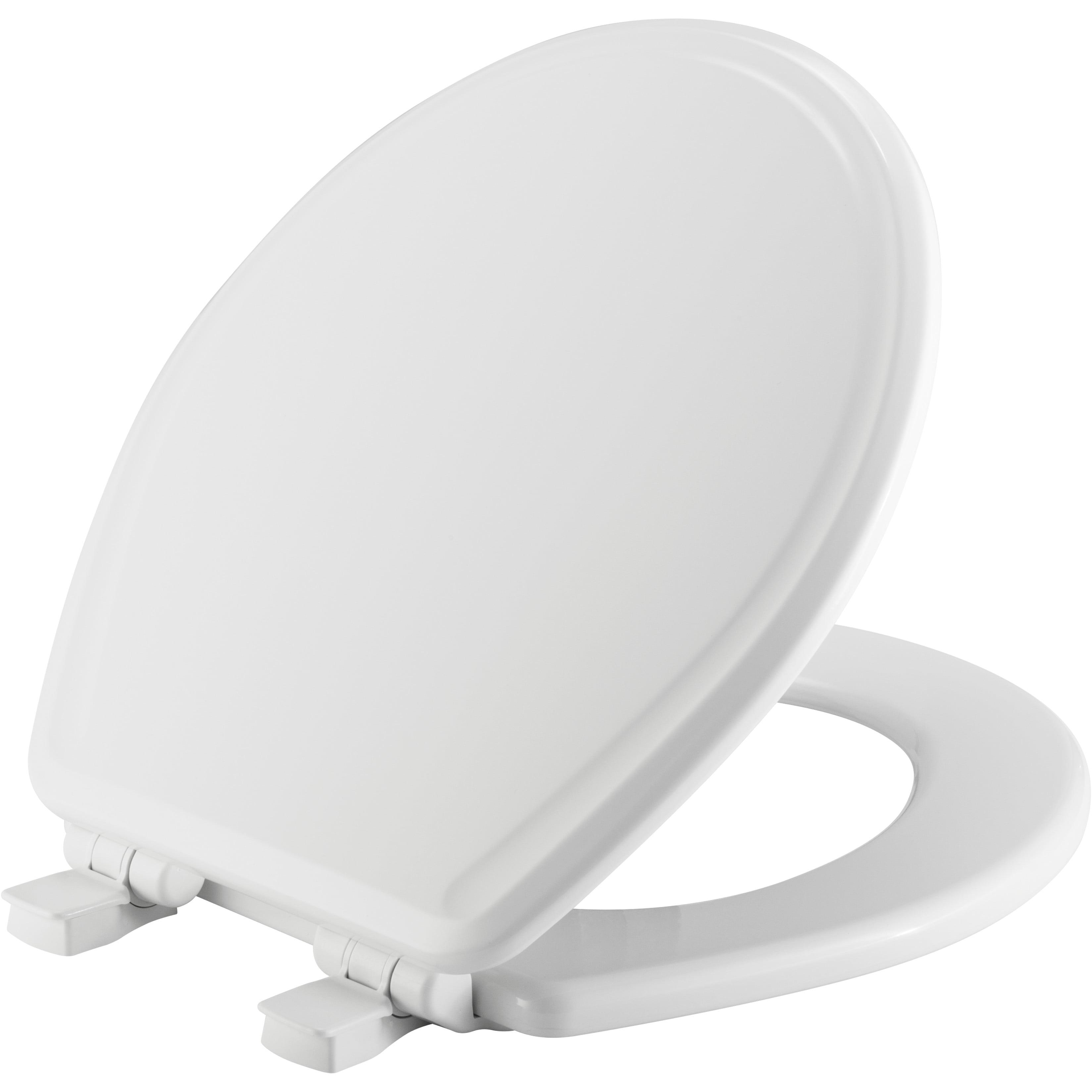 Fabulous Mayfair Easyclean Round Enameled Wood Toilet Seat In White With Sta Tite Walmart Com Evergreenethics Interior Chair Design Evergreenethicsorg