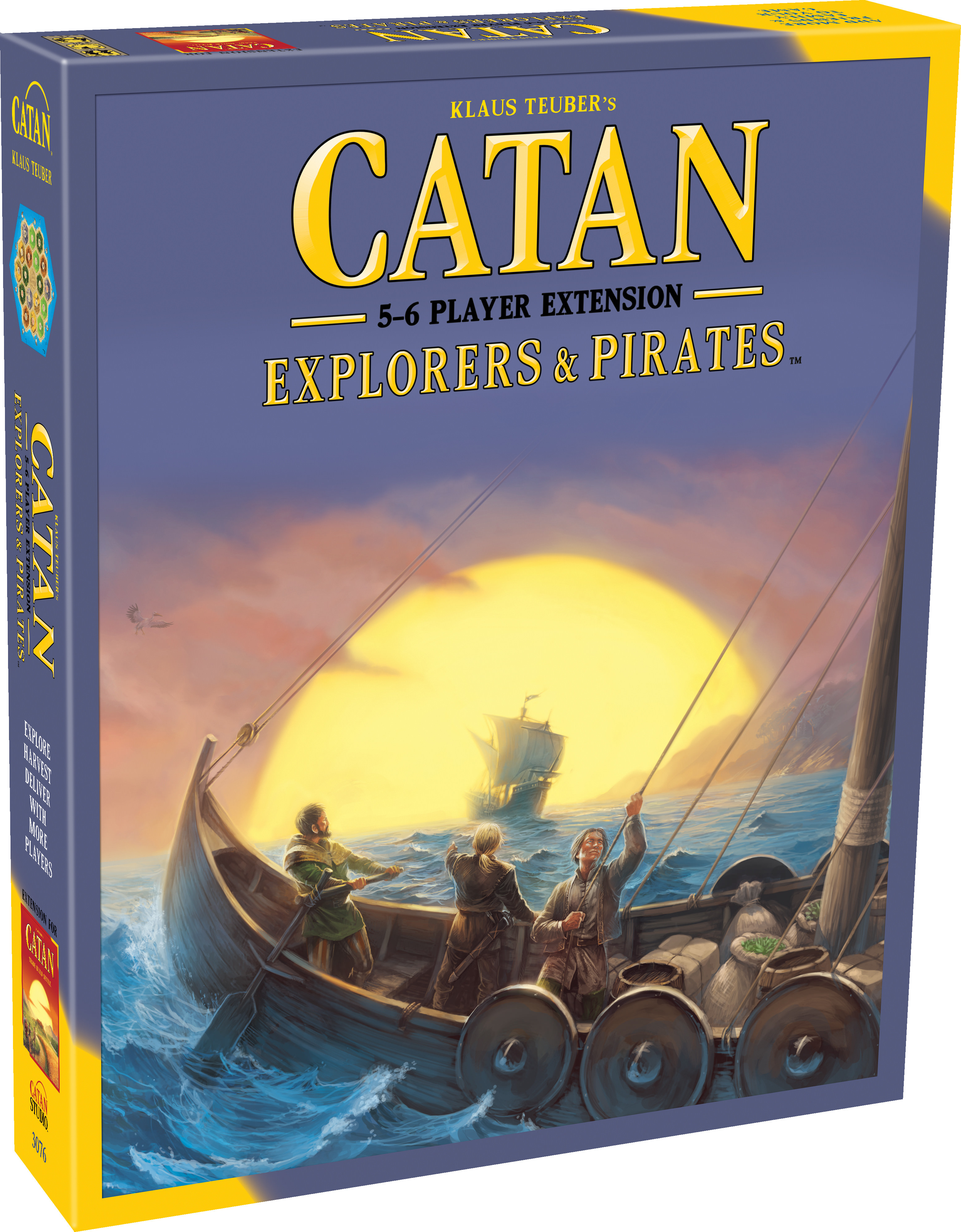 Catan: Explorers & Pirates 5-6 Player Extension by Asmodee North America