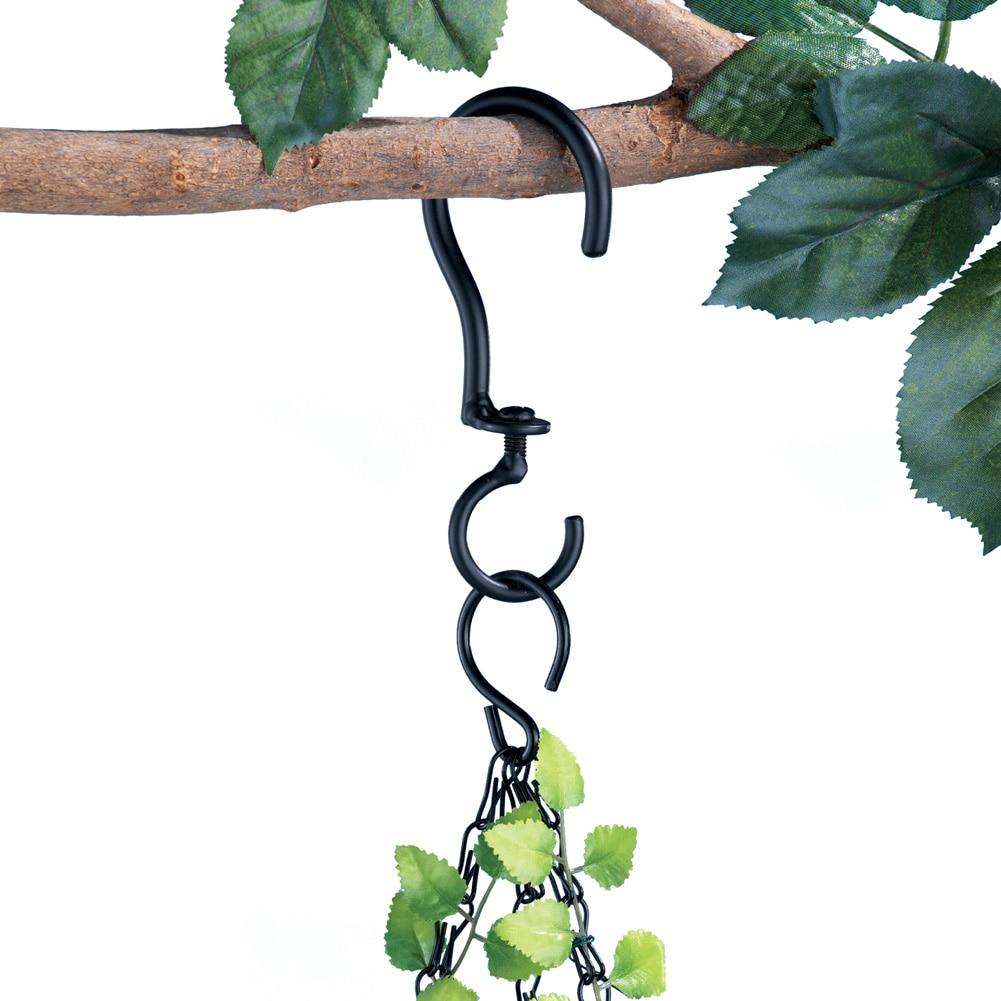 Swivel Hanging Basket Hooks - Set Of 3